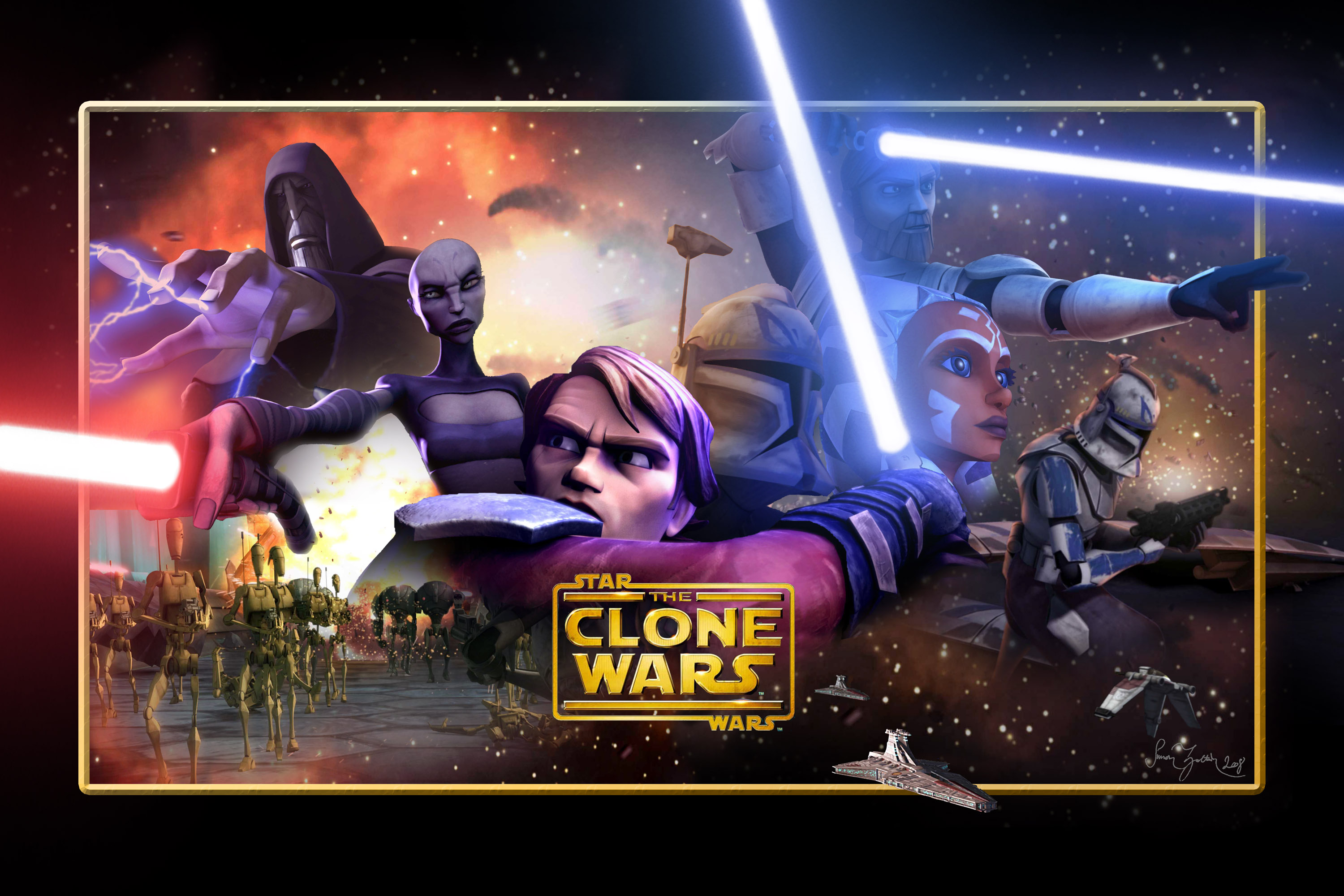 Star wars the clone wars 3d